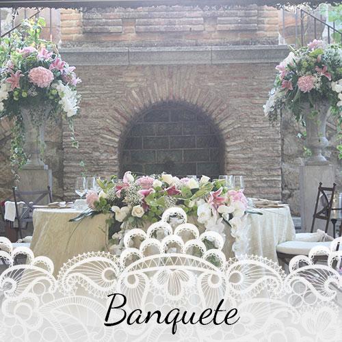 Floristería para bodas Alcorcón - Arte floral novias Alcorcón - Banquete boda Alcorcón
