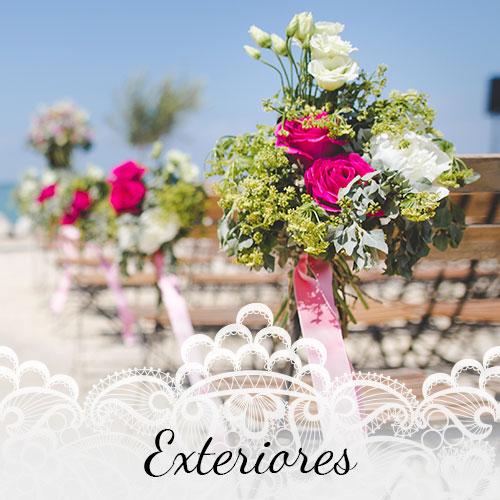 Floristería para bodas Alcorcón - Arte floral novias Alcorcón - Exteriores boda Alcorcón