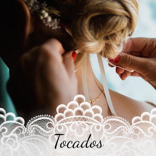 Floristería para bodas Alcorcón - Arte floral novias Alcorcón - Tocados para novia Alcorcón