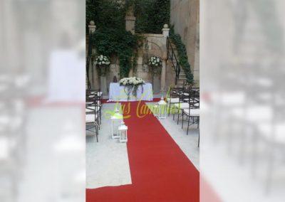 Decoración de exteriores bodas BE-0001