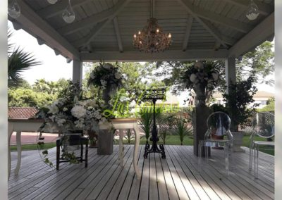 Decoración de exteriores bodas BE-0004