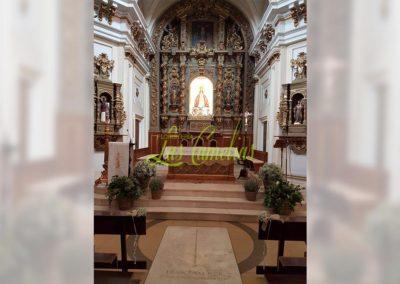 Decoración de iglesias bodas BI-0002