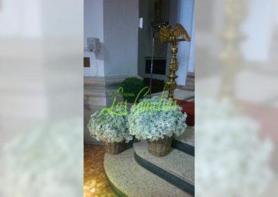 Decoración de iglesias bodas BI-0005