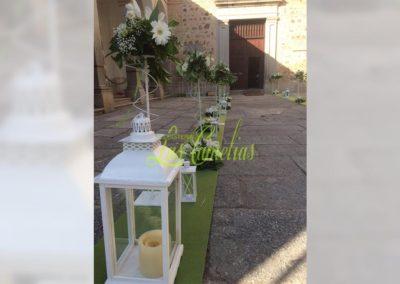 Decoración de iglesias bodas BI-0006