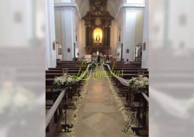 Decoración de iglesias bodas BI-0007