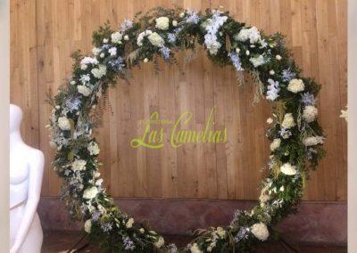 Decoración de exteriores bodas BE-0010