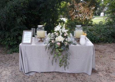 Decoración de exteriores bodas BE-0011
