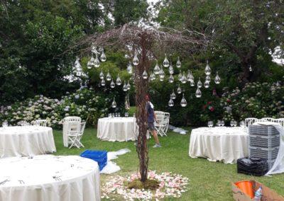 Decoración de exteriores bodas BE-0012