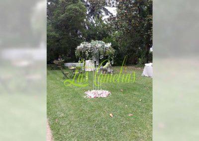 Decoración de exteriores bodas BE-0013