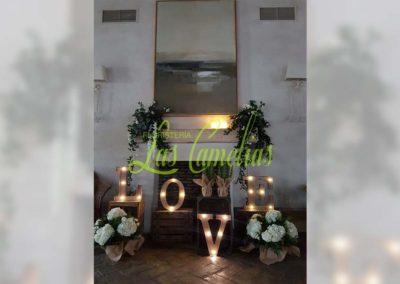 Decoración de exteriores bodas BE-0015