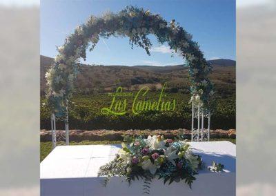 Decoración de exteriores bodas BE-0018