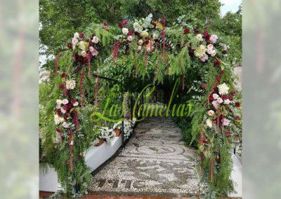 Decoración de exteriores bodas BE-0020