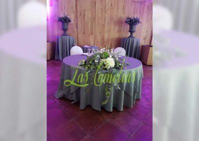 Decoración floral banquete boda BB-0004