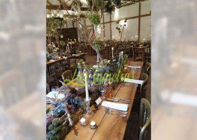 Decoración floral banquete boda BB-0015