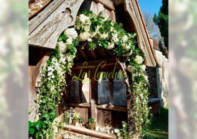 Decoración de exteriores bodas NE47