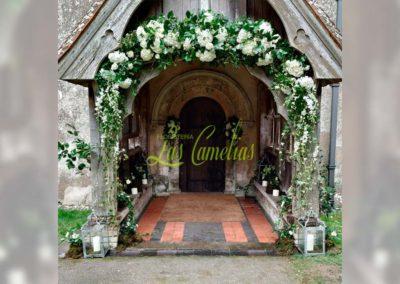 Decoración de exteriores bodas NE48