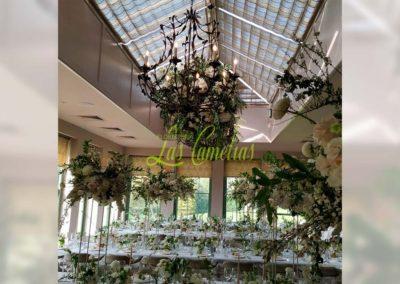 Decoración floral banquete boda 19052910