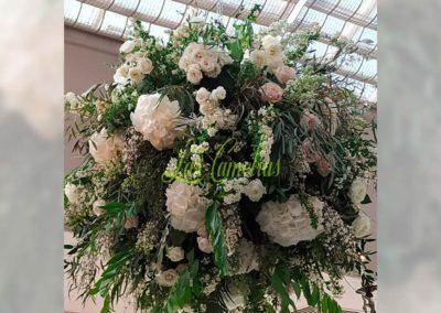 Decoración floral banquete boda 19052911