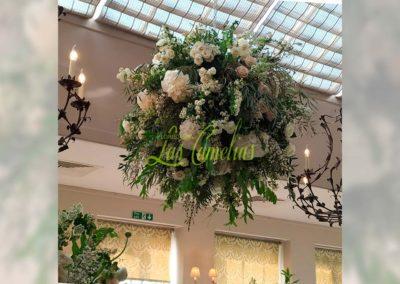 Decoración floral banquete boda 19052914