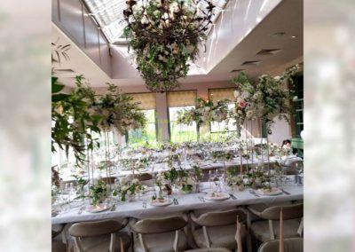 Decoración floral banquete boda 19052916