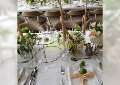 Decoración floral banquete boda 19052917