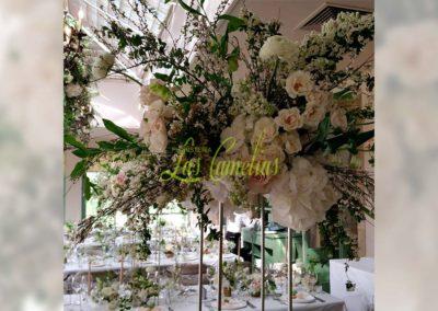 Decoración floral banquete boda 19052918