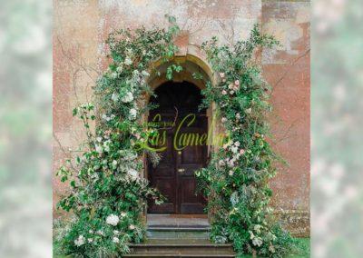 Decoración floral banquete boda 19052921