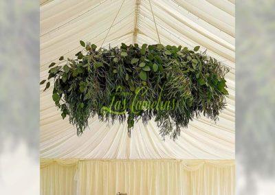 Decoración floral banquete boda 19052924