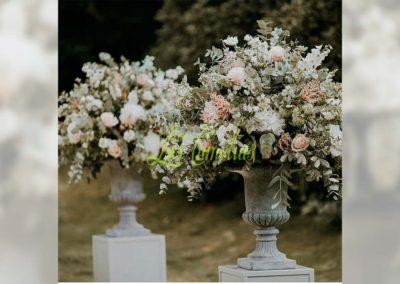 Decoración floral banquete boda 19052927