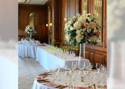 Decoración floral banquete boda 19052928