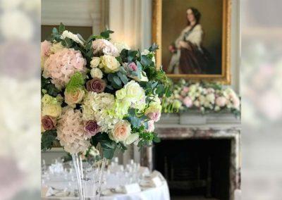 Decoración floral banquete boda 19052929