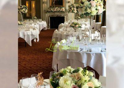 Decoración floral banquete boda 19052930