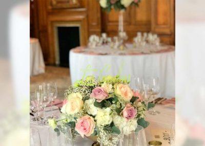 Decoración floral banquete boda 19052931