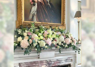 Decoración floral banquete boda 19052932